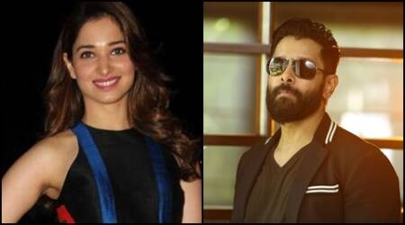 Tamannaah to star opposite Vikram in his next directed by Vijay Chander