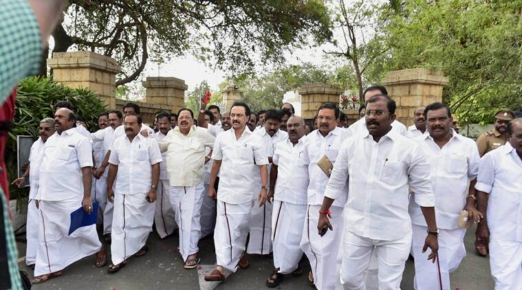 cattle slaughter, cow slaughter, beef ban, beef fest, stalin, meat industry, BJP, ban trade of cattle, mk stalin, stalin-tamil nadu, tamil nadu-beef ban, stalin protest, dmk protest, indian express