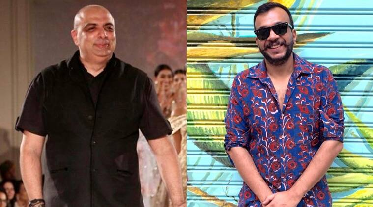 From L to R: Tarun Tahiliani and Amit Aggarwal. (Source: Facebook)