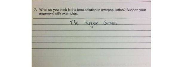 These 15 hilarious wrong test answers prove that kids are 'evil geniuses'