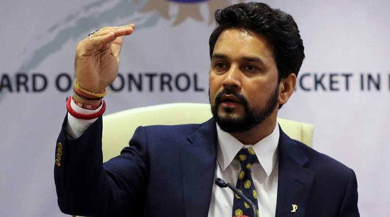 Ousted BCCI Chief Anurag Thakur issued an apology fearing jail time. (Source: REUTERS)