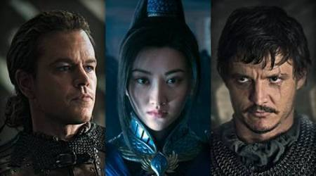 The Great wall, The Great wall movie, The Great wall review, The Great wall movie review, The Great wall cast, The Great cast, matt damon The Great wall, The Great wall matt damon, Yimou Zhang film, Yimou Zhang the great wall, the great wall Yimou Zhang, express review, entertainment news, indian express, indian express news