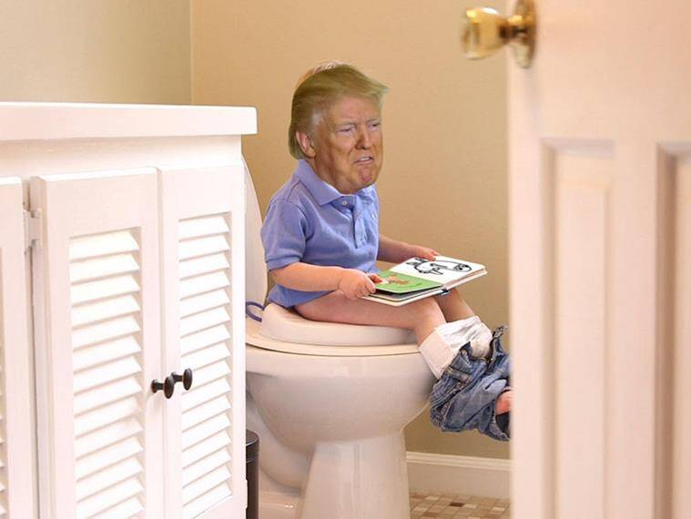 Top 20 'Tiny Trump' memes that are breaking the Internet right now ...