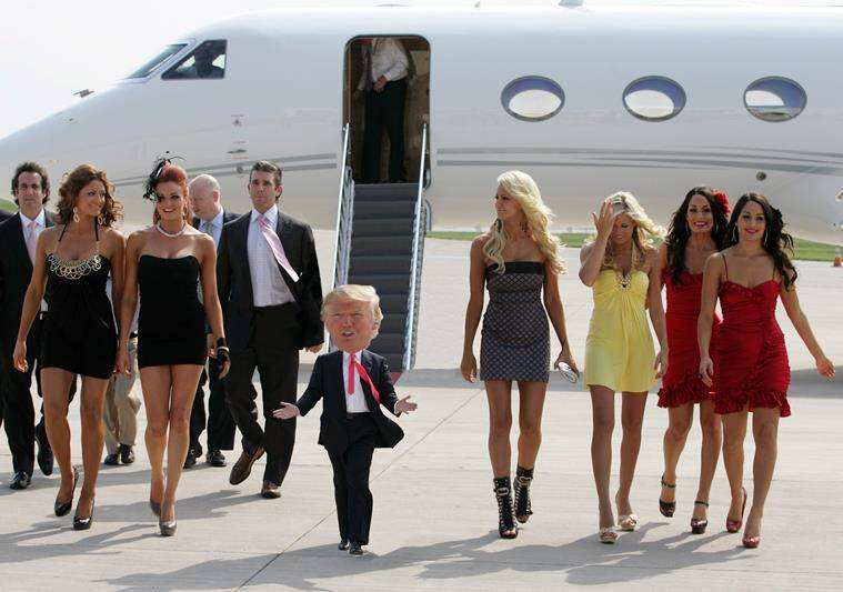Top Tiny Trump Memes That Are Breaking The Internet Right Now - The internet is using photoshop to make tiny trumps and its hilarious