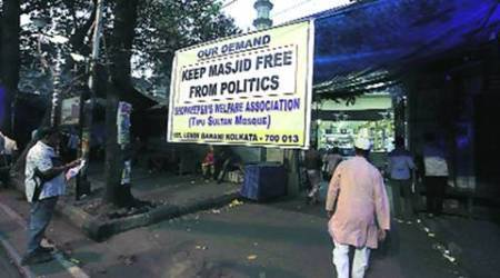 Near Tipu Sultan mosque, shopkeepers protest Barkati's 'controversial'statements