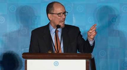 Tom Perez to lead US Democrats against Donald Trump, Republicans