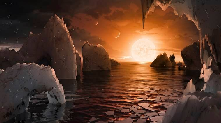 NASA, NASA discovery, NASA earth-size planets, NASA new planets, new planets, trappist-1, dim dwraf, space discovery, latest discovery, space research, science news, indian express news
