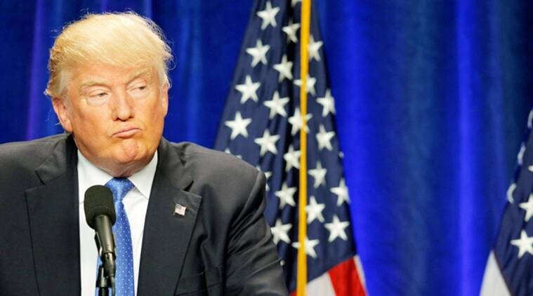 Video of donald trump drunk, Trump gets trolled, clip of donald trump ranting like an old man, Trump press conference, US president gets trolled, indian express, indian express news
