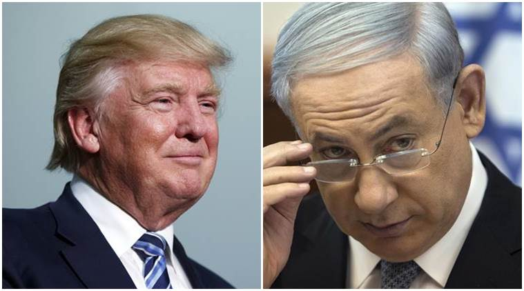 Donald Trump, Trump, US President Donald Trump, Trump Russia, Trump leaks information to Russia, Benjamin Netanyahu, Israel PM Netanyahu, US Russia, Kremlin, ISIS, US news, Indian Express, World news