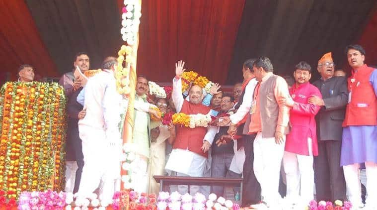 Uttar Pradesh, trump sena, Hindu youths, BJP, UP Hindu migration, amit shah, up assembly elections, india news