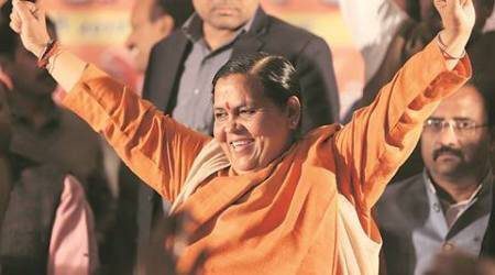 Uttar Pradesh elections 2017: At Uma Bharti's rally, also present; Trump & Putin, Marx & Lenin