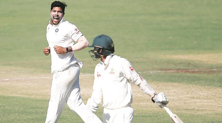 Umesh Yadav, Ravichandran Ashwin, cricket, India cricket, India VS Autralia, Australia, india australia match, bowling, sports news