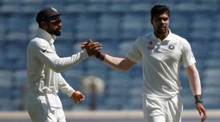India vs Australia 2017: First day, Umesh Yadav show