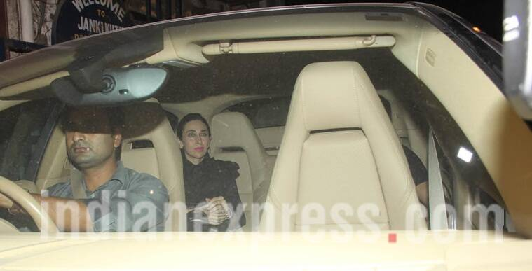 Hot! Rumoured beau Sandeep Toshniwal parties with Karisma Kapoor's family!