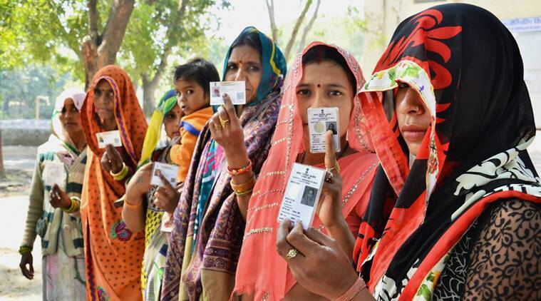 up voter percentage, up day 1 voter turnout, up polling day 1, uttar pradesh polls, election commission, up voter turnout, up polling first day, first phase up polls, up assembly elections 2017, EC up elections, up general elections 2017, EVM, electronic voting machines, up election latest news