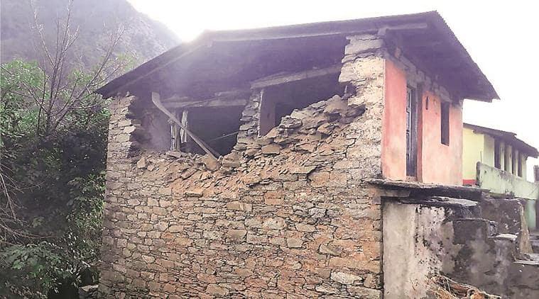 Uttarakhand earthquake, Uttarakhand quake, Uttarakhand news, Rudraprayag, Harish Rawat, Rudraprayag, magnitude, Rudraprayag, India news, Indian Express