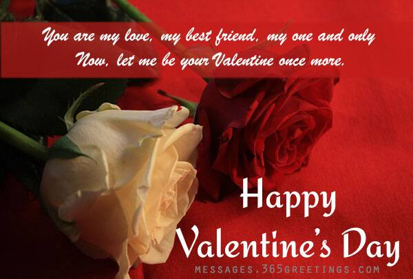 Valentines Day 2017 Messages for girlfriends wives – Message in Valentines Card