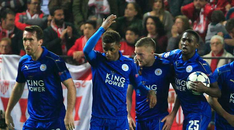 Image result for Sevilla vs Leicester City 2:1 2017