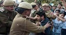 Police Deployment Outside Delhi's Ramjas College Following Protests, ClassesSuspended