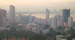 "The Bill now goes to the Assembly *** Local Caption *** ""the mumbai skyline at dawn. Express Photo by Ashish Shankar Mumbai, 20/01/2008"""