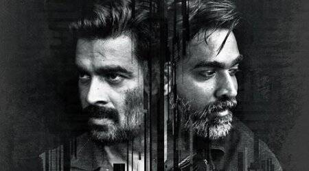 Vikram Vedha first look: Madhavan, Vijay Sethupathi set the screen on fire. See pic