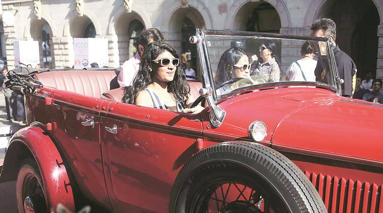 Day Of Vintage Cars On Mumbai Roads The Indian Express