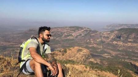 Before the Bengaluru Test, Virat Kohli takes some time off from cricketing duties. (Source: Facebook