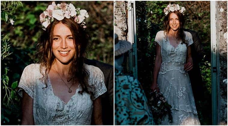 wedding dress, 150 year old dress, dress fashion, vintage wedding dress, fashion wedding dress, handmade wedding dress, indian express, indian express news