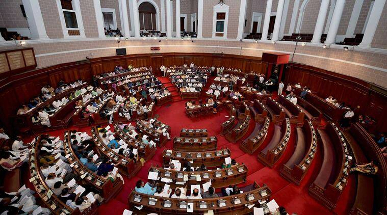 West Bengal assembly, West Bengal assembly adjourned sine die, no-confidence motion, Left, Congress, congress stages walk-out, India news, Indian Express