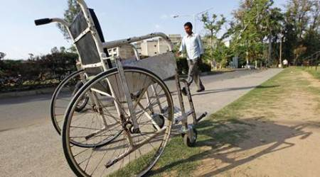Wheelchair bribe Rs 100, paraplegic uses tricycle