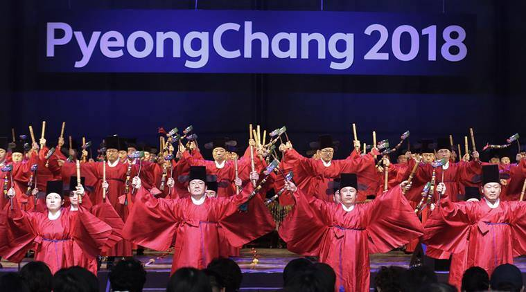 Winter Olympics are scheduled for Feb. 9-25 next year in the South Korean alpine town of Pyeongchang. (Source: AP)