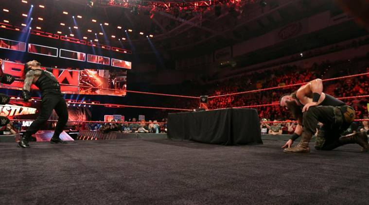 wwe raw, wwe raw photos, wwe raw results, wwe raw videos, wwe raw matches, roman reigns, braun strowman, strowman, wwe fastlane, kevin owens, goldberg, wwe news, sports news