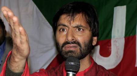 Yasin Malik detained while trying to protest against alleged killing of civilians in Shopianfiring