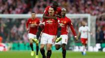 Zlatan Ibrahimovic shines in Manchester United's EFL Cup win