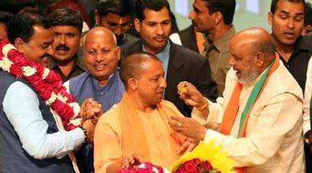Yogi Adityanath, yogi adityanath new UP CM, UP CM Yogi Adityanath, Yogi Adityanath appointed as UP new CM, UP deputy CM, indian express news