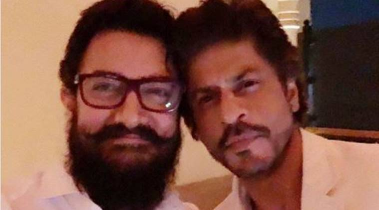 Aamir Khan, Aamir Khan Birthday, Aamir Khan 52nd Birthday, Shah Rukh Khan wished Aamir Khan on his bday, who wished aamir khan on his birthday, Aamir khan and shah rukh khan meet, aamir khan and shah rukh pictures,