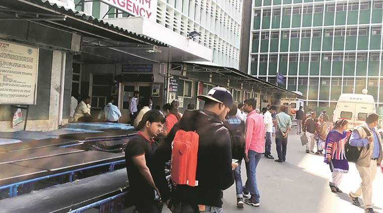 AIIMS, AIIMS nurses, AIIMS hospital, AIIMS emergency shut, AIIMS services, AIIMS patients, latest news, indian express, india news