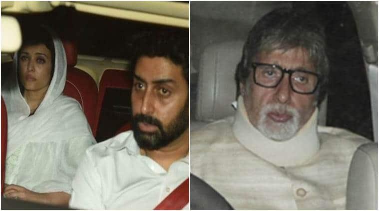 Aishwarya Rai Bachchan, Amitabh Bachchan, Aishwarya Rai father death, Amitabh Bachchan post, Aishwarya Rai father death reaction, Aishwarya Rai father death news, Aishwarya Rai father death updates