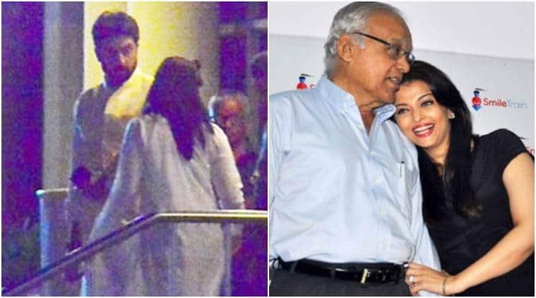 Aishwarya Rai Bachchan, Aishwarya Rai Bachchan father, Aishwarya rai father, Aishwarya Rai father hospital, Aishwarya Rai Bachchan hospital
