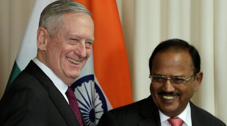 Ajit Doval, NSA, NSA Ajit Doval, donald Trump, trump, Trump administration, US, Ajit Doval's US visit, India-US, Indo-US ties, indian express news