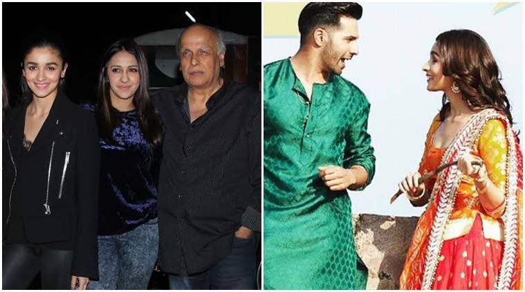alia bhatt, mahesh bhatt, alia bhatt mahesh bhatt, badrinath ki dulhania, alia bhatt badrinath ki dulhania, alia bhatt father, shashank khaitan, gauahar khan, varun dhawan, alia varun, indian express news, entertainment news