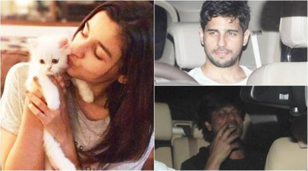 Alia Bhatt, Alia Bhatt birthday party, Sidharth Malhotra, Shah Rukh Khan