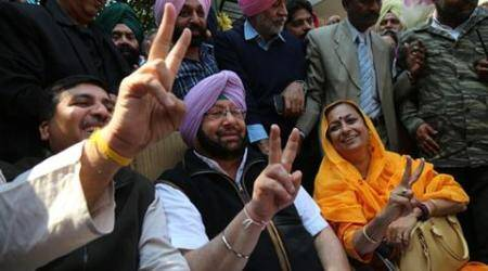 Punjab election results 2017 highlights: Congress wins 77 seats, Akali-BJP combine decimated
