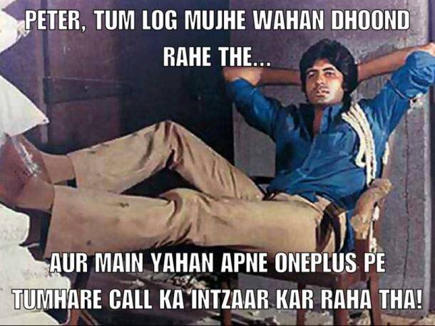 amitabh bachchan memes, amitabh bachchan oneplus dialogues, amitabh bachchan dialogues, amitabh bachchan movie dialogues memes, indian express, indian express news