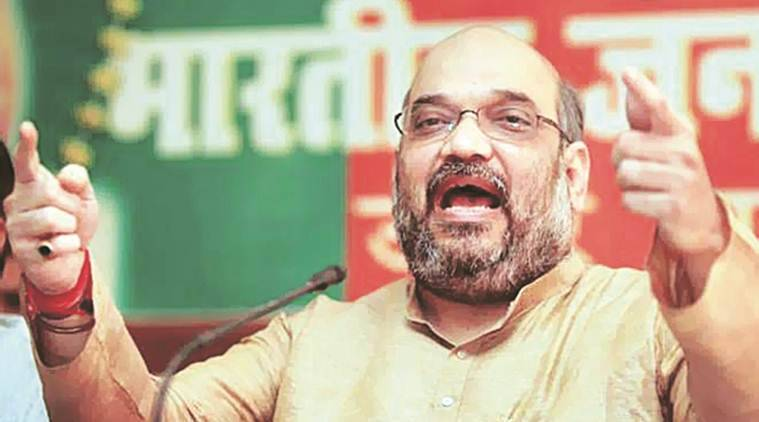 Amit Shah, BJP, BJP president, Savarkar Sahitya Sammelan, amit shah thane, savarkar meet, indian express news, india news