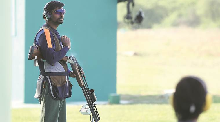 Ankur Mittal, Men's double trap, Asian Shotgun Championship, Kazakhstan