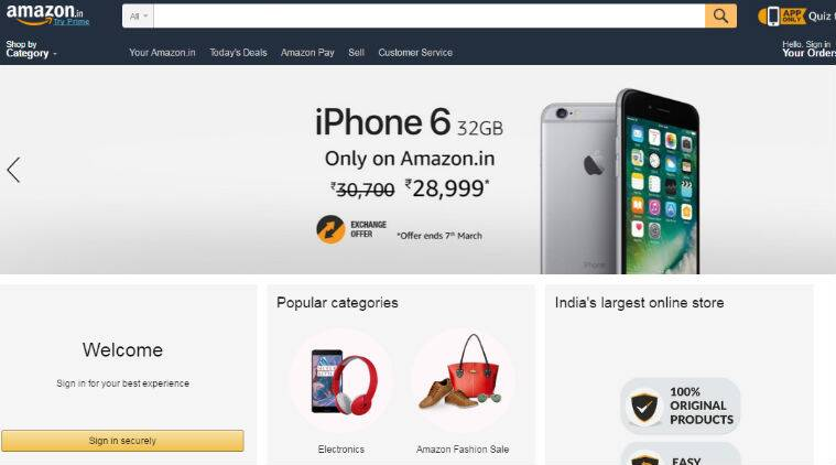 Apple, iPhone 6, iPhone 6 Amazon deal, iPhone 6 deal, iPhone 6 discount, iPhone discount, iPhone deal, iPhone 6 32GB Amazon, Amazon iPhone deal, iPhone 6 review, iPhone 6 features, iPhone 6 specifications, smartphones, technology, technology news