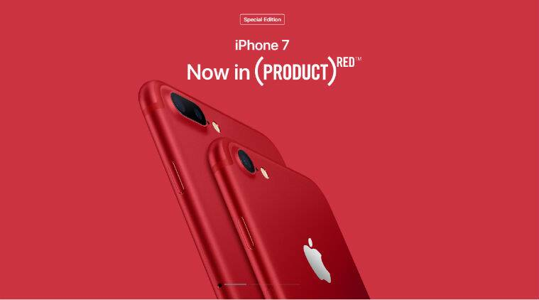 Apple Product Red Iphone 7 And Iphone 7 Plus To Launch In India