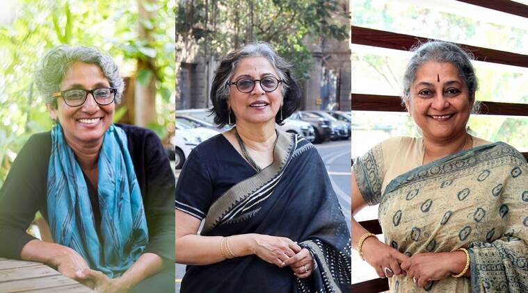 From L to R: Chitra Vishwanath, Brinda Somaya and Sheila Sri Prakash.