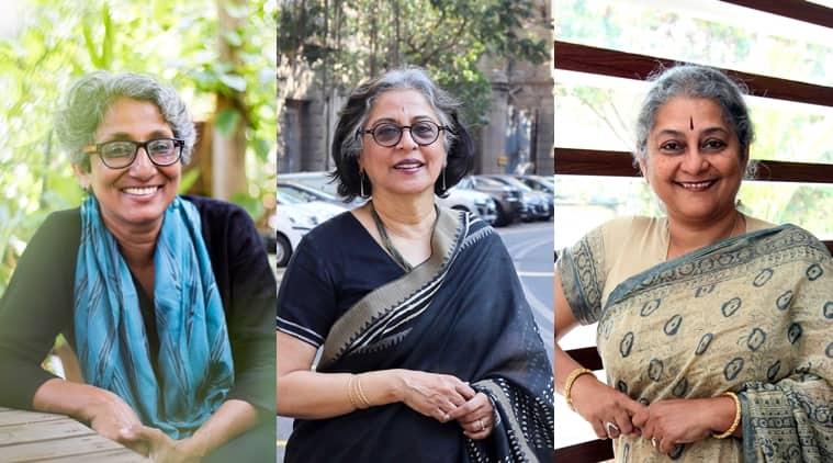 From L to R: Chitra Vishwanath, Brinda Somaya and Sheila Sri Prakash.